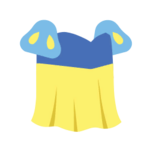 Clothes princess yellow.png