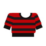 Clothes sweater striped red.png