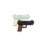 Pearl and Onyx Dual Pistols.png