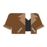 Clothes jacket brown.png