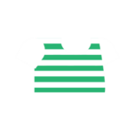Clothes tshirt striped green.png