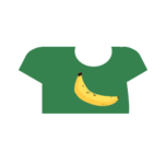 Clothes tshirt banana.png