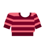 Clothes sweater striped pink.png
