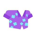 Clothes shirt purple.png