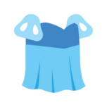 Clothes princess blue.png
