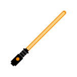 Melee lightsaber orange-resources.assets-3457.png