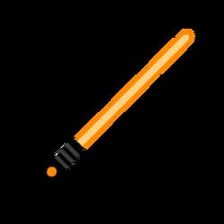 Melee lightsaber orange-resources.assets-3457.png