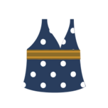 Clothes spring dress blue.png