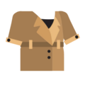 Clothes trenchcoat khaki.png