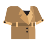 Clothes trenchcoat khaki.png