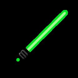 Melee lightsaber green-resources.assets-216.png
