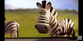 Creature Comforts Zebra