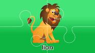 Nursery Tracks Lion