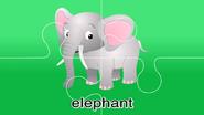 Nursery Tracks Elephant