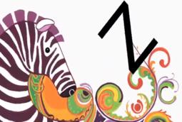 Alphabet Zoo Zebra