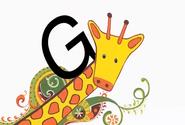 Alphabet Zoo Giraffe