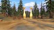 VeggieTales Giraffes