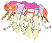 Adventure Time Elephants