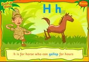 CBeebies Horse