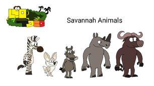 Leo and toco the savannah animals part 1 by sidabathetoonlord deao1q1