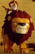 Laval on a Lion