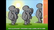 Giraffe Elephants