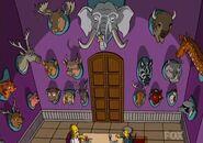 Treehouse of Horror Animal Heads