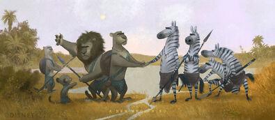 Zootopia Concept Art by Cory Loftis Disney 02
