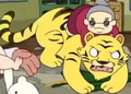 Adventure Time Tiger