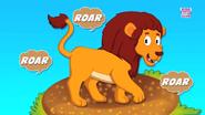 The Lion Goes Roar