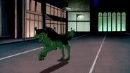 Beast Boy as Wolf