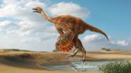 Illustration of Aepyornithomimus tugrikinensis