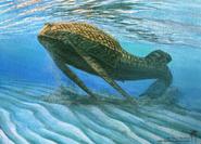 Art impression of Bothriolepis