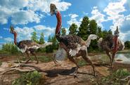 Life restoration of Corythoraptor jacobsi