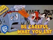 Animaniacs SING-ALONG 🎤 - Be Careful What You Eat - WB Kids