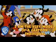 Animaniacs SING-ALONG 🎤 - I Am the Very Model of a Cartoon Individual - WB Kids