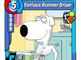 Serious Runner Brian
