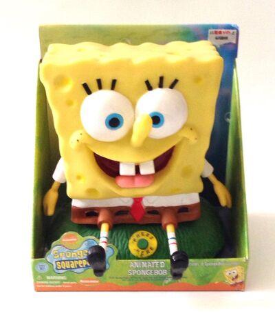 2002 SpongeBob SquarePants Animated Singing Talking Toy Theme Song Dancing.JPG