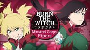 「BLEACH Brave Souls(ブレソル)」BURN THE WITCHコラボサイクルガチャ―Minstrel Corps Pipers― プロモーションムービー