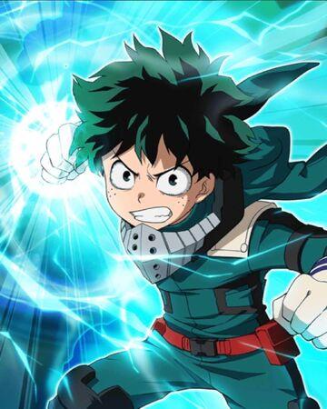 Izuku Midoriya Anime Wiki Fandom