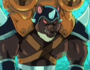 Ash Pan Grizzly Bear