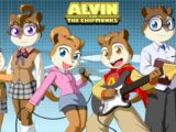 Alvin and the Chipmunks (anime style)