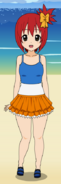 Rika Toshima in Summer Clothing