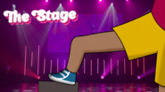 Rapping stage
