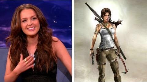 "Camilla Luddington Died A Million Different Ways In ""Tomb Raider"" - CONAN on TBS"