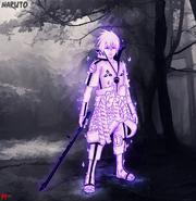 Sasuke susanoo mode by marttist-d74q0t5