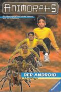 Animorphs 10 the android der android german cover