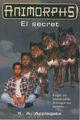 Animorphs 9 the secret El secret catalan cover