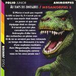 Animorphs megamorphs 2 time of dinosaurs french back cover.JPG