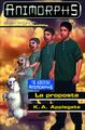 Animorphs proposal book 35 italian la proposta cover